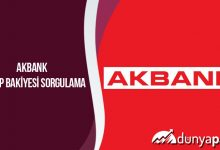Akbank Hesap Bakiyesi Sorgulama