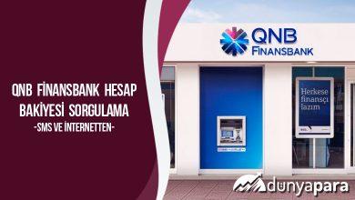 QNB Finansbank Hesap Bakiyesi Sorgulama (Sms ve İnternetten)