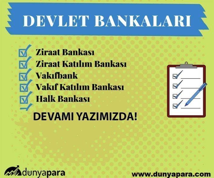 Devlet Bankaları Hangileri? - Kamu Bankaları Listesi