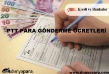 PTT Para Gönderme Ücretleri