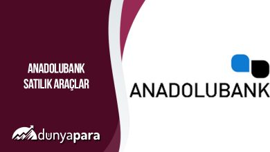 Anadolubank Satılık Araçlar
