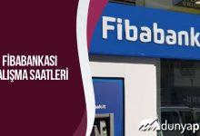 Fibabank Çalışma Saatleri