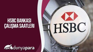 HSBC Bankası Çalışma Saatleri