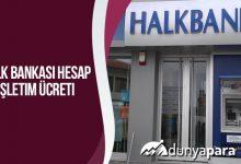 Halk Bankası Hesap İşletim Ücreti