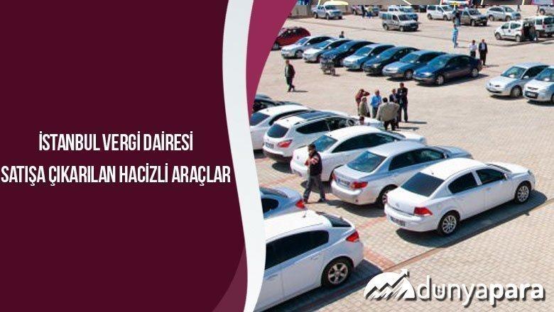 Istanbul Vergi Dairesi Satisa Cikarilan Hacizli Araclar
