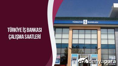 Türkiye İş Bankası Çalışma Saatleri