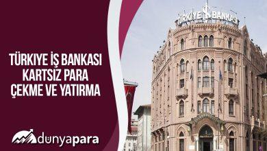 Türkiye İş Bankası Kartsız Para Çekme ve Yatırma