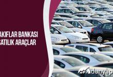 Vakıfbank Satılık Araçlar