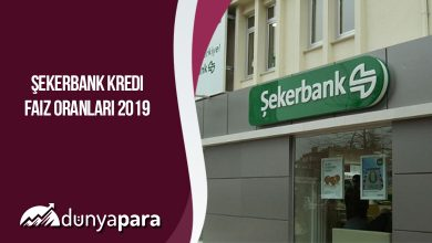 Şekerbank Kredi Faiz Oranları 2019