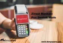 Ziraat Bankası Pos Destek Hattı