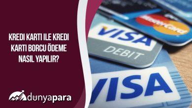 Kredi Kartı ile Kredi Kartı Borcu Ödeme Nasıl Yapılır?