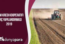 Tarım Kredi Kooperatifi Borç Yapılandırması 2020